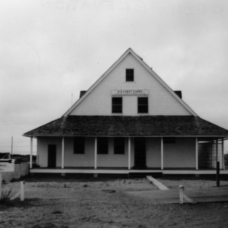 Front view, Caffey's Inlet Lifesaving Station, Dare County, North Carolina