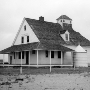 View, Caffey's Inlet Lifesaving Station, Dare County, North Carolina