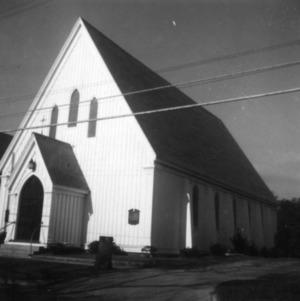 View, St. Paul's Episcopal Church, Beaufort, North Carolina
