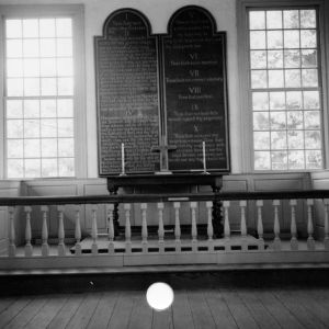 Altar, St. John's Episcopal Church, Williamsboro, North Carolina