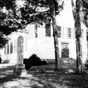Front view, St. John's Episcopal Church, Williamsboro, North Carolina