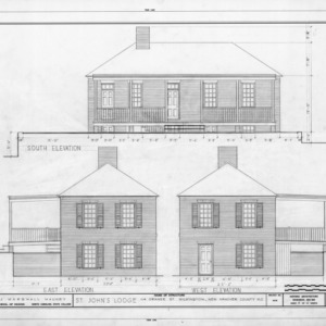 Elevations, St. John's Lodge, Wilmington, North Carolina