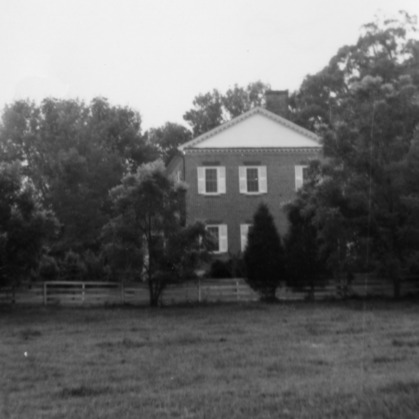 Side view, Ingleside, Lincoln County, North Carolina