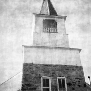 Steeple, Zion (Organ) Lutheran Church, Rowan County, North Carolina