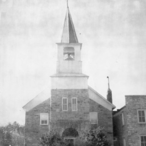 Front view, Zion (Organ) Lutheran Church, Rowan County, North Carolina