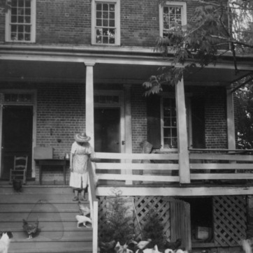Porch, Pleasant Valley, Morganton, North Carolina