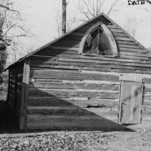 Outbuilding, Pleasant Grove Camp Meeting Ground, Union County, North Carolina