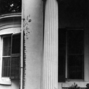 Column, Cooleemee Plantation, Davie County, North Carolina