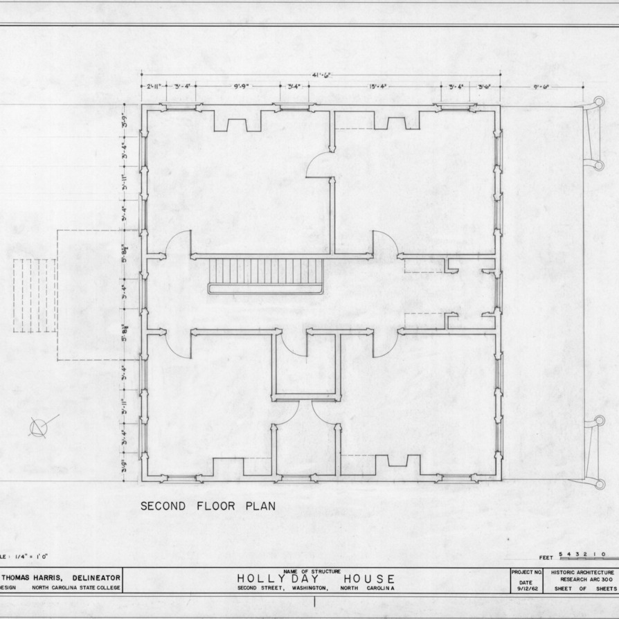 Ncsu libraries 39 rare and unique digital collections search for North carolina home plans