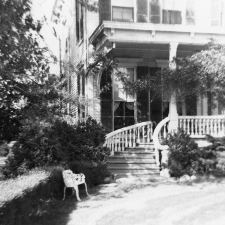 View with stairs, Hollyday House, Washington, North Carolina