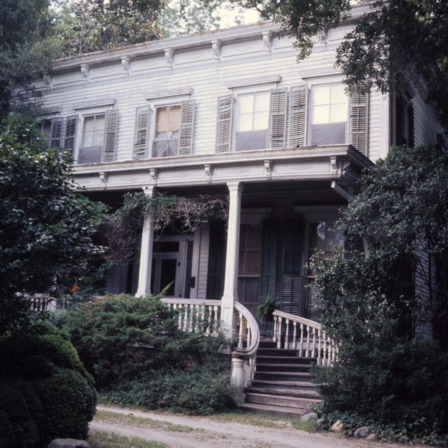 Front view, Hollyday House, Washington, Beaufort County, North Carolina