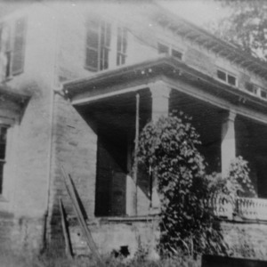 Porch, Rugby Grange, Henderson County, North Carolina