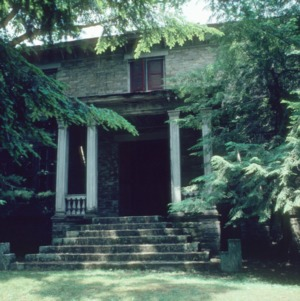 Front view, Rugby Grange, Henderson County, North Carolina