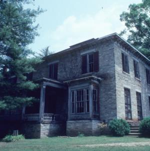 View, Rugby Grange, Henderson County, North Carolina