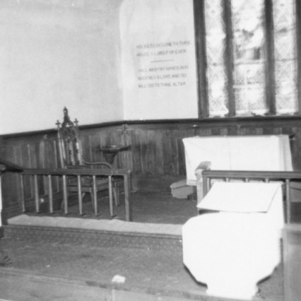 Altar, St. David's Episcopal Church, Washington County, North Carolina