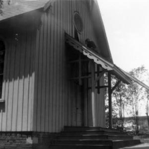 Front view, St. Athanasius Episcopal Church, Burlington, North Carolina