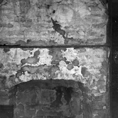 Fireplace, Old Dempsey Powell House, Wake County, North Carolina
