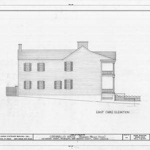 East elevation, Burgwin-Wright House, Wilmington, North Carolina