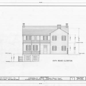 South elevation, Burgwin-Wright House, Wilmington, North Carolina
