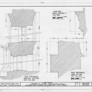 Details, Burgwin-Wright House, Wilmington, North Carolina