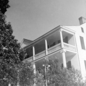 View with porch, Burgwin-Wright House, Wilmington, North Carolina