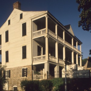 Side view, Burgwin-Wright House, Wilmington, North Carolina