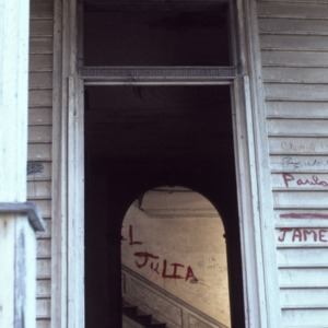 Window detail, Little Manor, Littleton, Halifax County, North Carolina