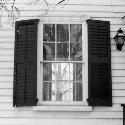 Window, Archibald Henderson Law Office, Salisbury, North Carolina