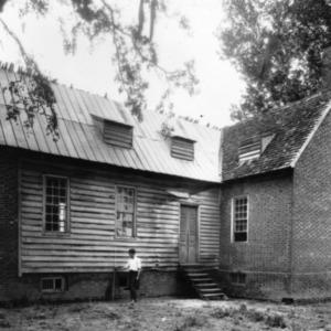 View, Duke-Lawrence House, Northampton County, North Carolina