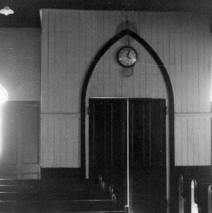 Interior view, St. Ambrose Episcopal Church, Raleigh, North Carolina