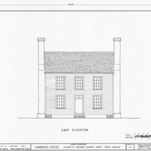 Front elevation, Hammock House, Beaufort, North Carolina