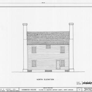Rear elevation, Hammock House, Beaufort, North Carolina