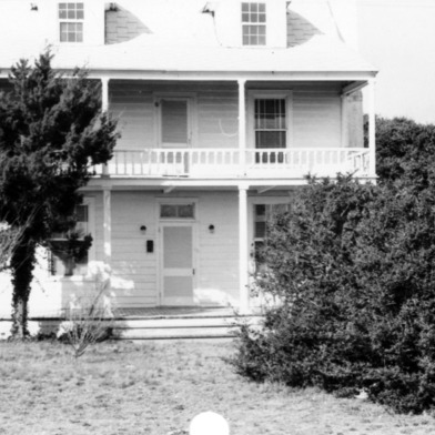 Front view, Hammock House, Beaufort, North Carolina