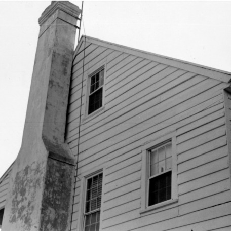 Side view with chimney, Hammock House, Beaufort, North Carolina