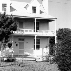 Front view with porch, Hammock House, Beaufort, North Carolina
