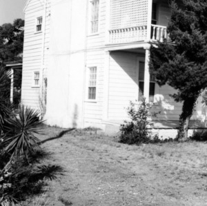 Side view, Hammock House, Beaufort, North Carolina