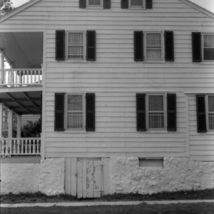 Side view, Jacob Henry House, Beaufort, North Carolina