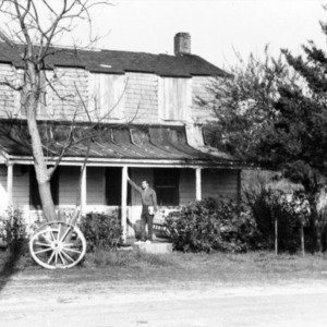Front view, Hancock House, Beaufort, North Carolina