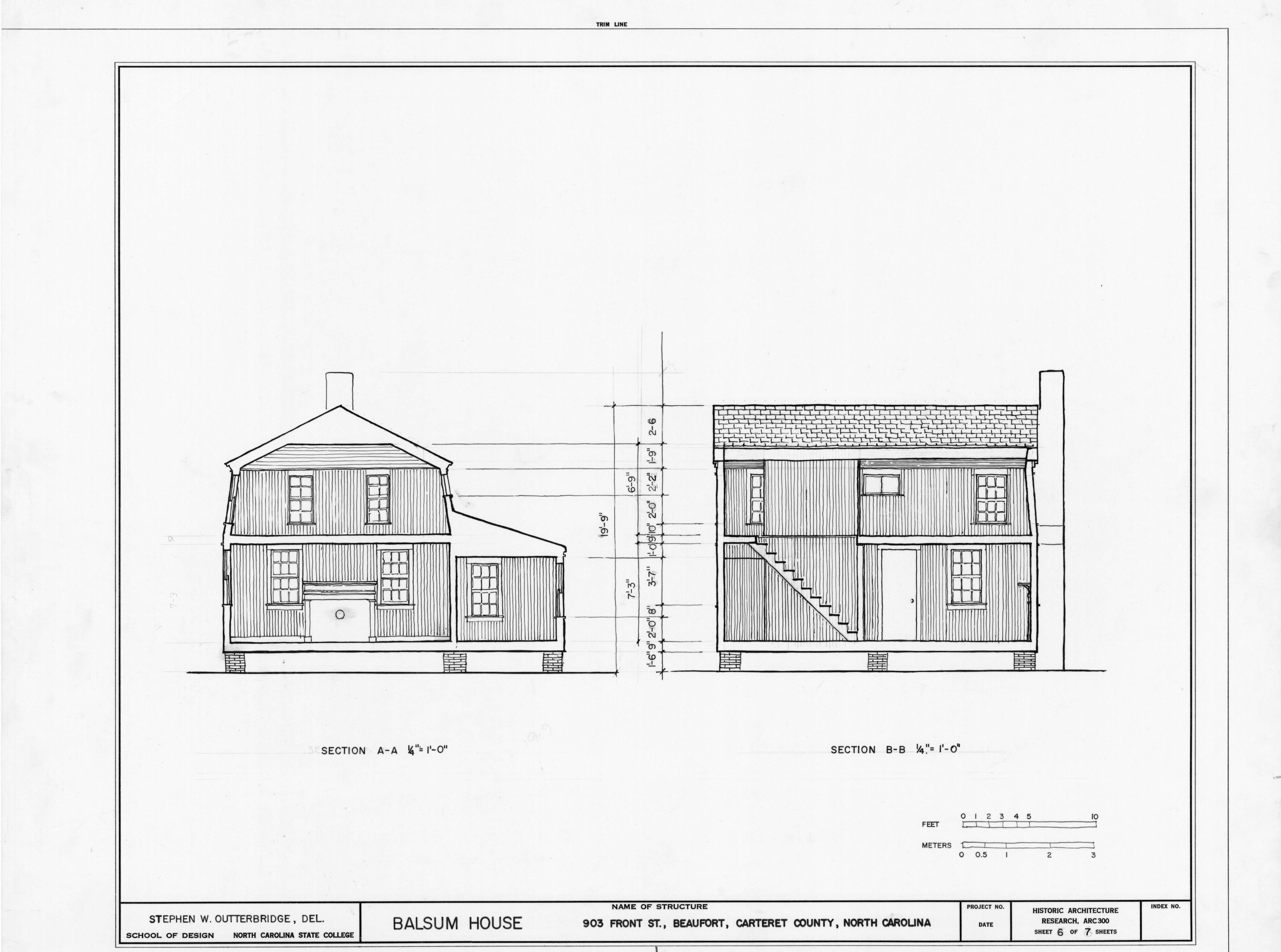 Longitudinal Section And Cross Section And Longitudinal Sections