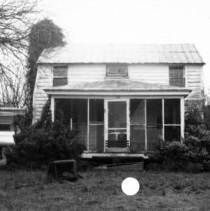 View, Balsum House, Beaufort, North Carolina
