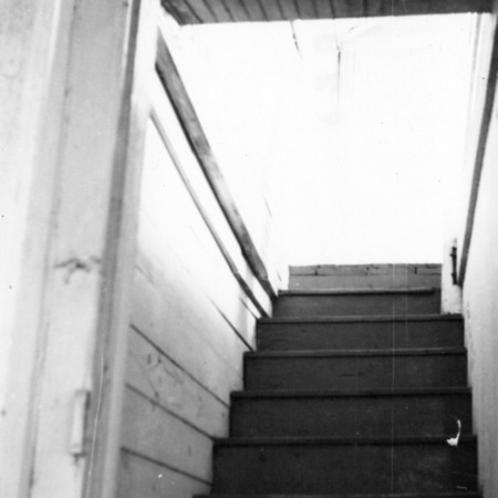 Interior stairs, Balsum House, Beaufort, North Carolina