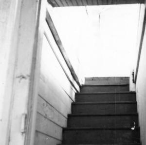 Interior stairs, Balsum House, Beaufort, North Carolina