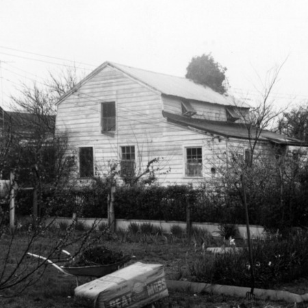 Side view, Balsum House, Beaufort, North Carolina