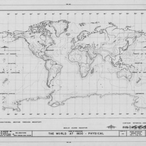 1800 world map