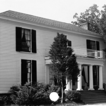 Front view, Midway Plantation, Wake County, North Carolina