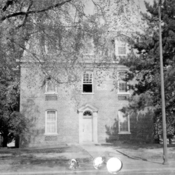 Front view, Fourth Dormitory, Raleigh, North Carolina