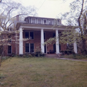 Front view, Bumpass-Troy House, Greensboro, North Carolina