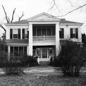 Front view, Summervilla, Harnett County, North Carolina