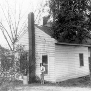 Outbuilding, Julian House, Franklinville, North Carolina