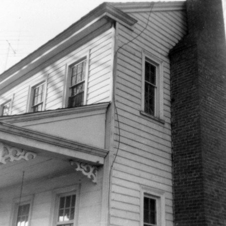 Partial view, Julian House, Franklinville, North Carolina